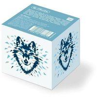 Karteczki, Notes kostka 8/8/7 Wild animals Wolf