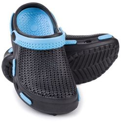 Spokey Fliper - klapki basenowe dziecięce r.30 (czarno-niebieski)