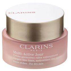Clarins Multi-Active antyoksydacyjny krem na dzień do skóry suchej (Day Early Wrinkle Correction Cream for Dry Skin) 50 ml