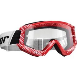 THOR GOGLE COMBAT CAP OFFROAD RED/WHITE =$