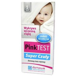 Pink Super Czuły test ciążowy płytkowy x 1 sztuka