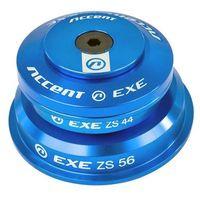 Pozostałe części rowerowe, Stery ACCENT HSI-EXE niebieski / Rodzaj: półzintegrowane / Średnica: tapered