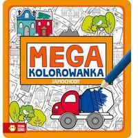 Kolorowanki, Megakolorowanka Samochody