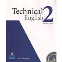 Książki do nauki języka, Technical English 2. Teacher's Book (Książka nauczyciela) + CD (opr. miękka)