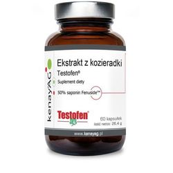 Testofen - Ekstrakt z Kozieradki 440 mg (60 kaps.) Gencor Pacific