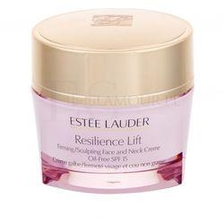Estée Lauder Resilience Lift Face and Neck Creme Oil-Free SPF15 krem do twarzy na dzień 50 ml dla kobiet