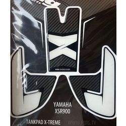 Tankpad PUIG Extreme do Yamaha XSR900 16-17 (trzyczęściowy)