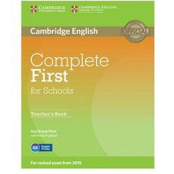 Complete First for Schools. Książka Nauczyciela (opr. miękka)