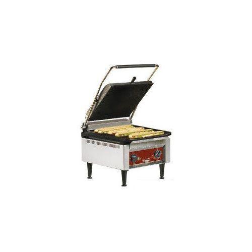 Grille gastronomiczne, Grill kontaktowy żeliwny pojedyńczy ryflowany/gładki | 3600W