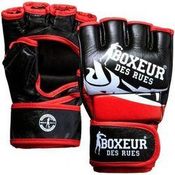 Rękawice do MMA BOXEUR BXT-5135 (rozmiar L) Czarno-czerwony