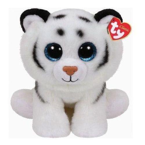 Pluszaki zwierzątka, Beanie Babies Tundra - Biały Tygrys 24cm