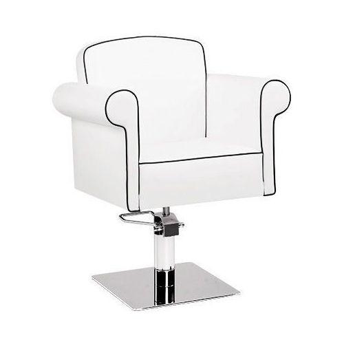 Meble fryzjerskie, Ayala ART DECO 01 fotel fryzjerski na pompie hydraulicznej z możliwością wyboru podstawy