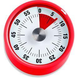 Minutnik kuchenny, czerwony, podstawa magnetyczna, ADE (AD-TD 1709)