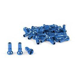 DART-322 Nyple Dartmoor aluminiowe niebieskie komplet 38 szt
