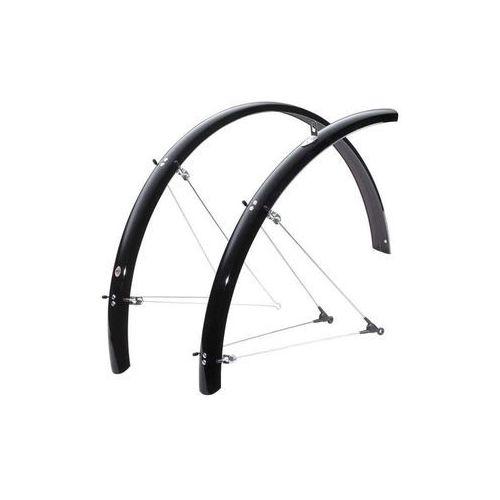 """Błotniki rowerowe, 10116 Błotniki SKS BLUEMELS MOUNTAIN RANGE 26"""" 60 mm czarne, zestaw"""