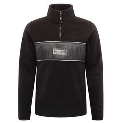 Superdry Bluza polarowa 'POLAR INTERNATIONAL TRACK' czarny
