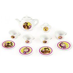 Smoby Serwis herbaciany porcelana Masza i niedźwiedź