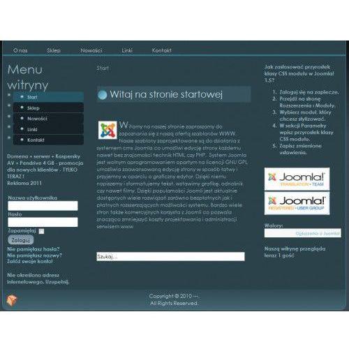 Oprogramowanie do WWW, Szablon Joomla nr s48