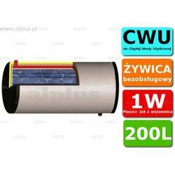 ERMET 200l skay dwupłaszczowy poziomy bojler do CWU - podgrzewacz wymiennik bezobsługowy - WYSYŁKA GRATIS