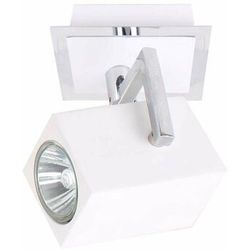 Kinkiet Italux Mateo FH31151SJS3 lampa ścienna sufitowa spot 1X35W GU10 biały / chrom