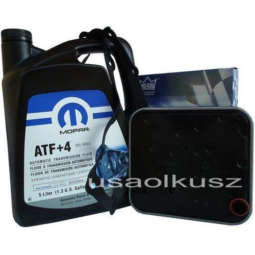 Filtry oleju do skrzyni biegów, Olej MOPAR ATF+4 oraz filtr automatycznej skrzyni 4SPD Chrysler Sebring