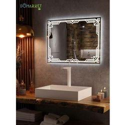 Lustro z oświetleniem ledowym do łazienki: ALISA-05