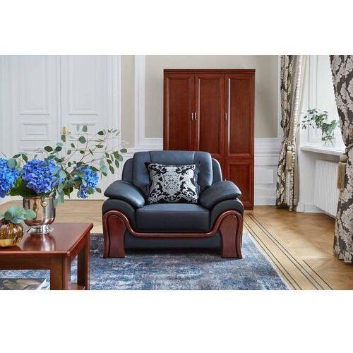 Fotele i krzesła biurowe, Fotel PALLADIO czarny