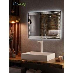 Lustro z oświetleniem ledowym do łazienki: ALISA-11