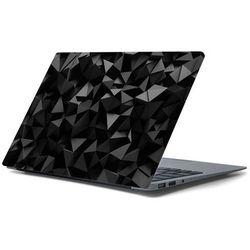 Naklejka na laptopa - Czarne trójkąty 4358