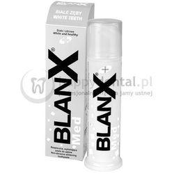 BLANX Med Białe Zęby 100ml - pasta o przedłużonym działaniu wybielającym