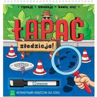 Książki dla dzieci, Łapać złodzieja Interaktywna książeczka dla dzieci - Praca zbiorowa (opr. broszurowa)