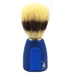 Pędzel do golenia LUX SZCZECINA, niebiesko-błękitny, Schramm