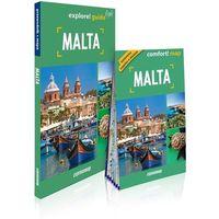 Przewodniki turystyczne, Explore! guide Malta (przewodnik + mapa) (opr. broszurowa)