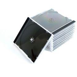 Pudełko plastikowe na 1CD czarny tray