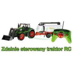 Duży Zdalnie Sterowany Traktor z Przyczepą (cysterną) + Pilot Radiowy.