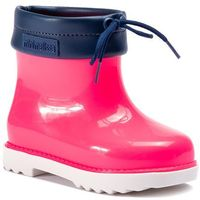 Kalosze dziecięce, Kalosze MELISSA - Mini Melissa Rain Boot Bb 32424 White/Pink/Blue 52455