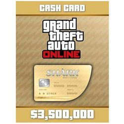 Grand Theft Auto Online: Whale Shark Cash Card - G - Windows - Akcja
