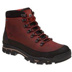Trzewiki trekkingowe BADURA 4618-257 Czerwone SympaTex - Czerwony ||Bordowy