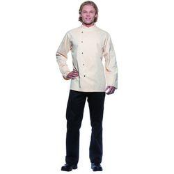 Bluza kucharska męska, rozmiar 62, kremowa | KARLOWSKY, Lars