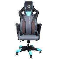 Fotele dla graczy, Fotel E-BLUE Cobra III 313BL E-Sport Czarno-niebieski