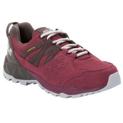 Damskie buty trekkingowe CASCADE HIKE TEXAPORE LOW W burgundy / dark steel - 4,5