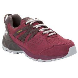 Damskie buty trekkingowe CASCADE HIKE TEXAPORE LOW W burgundy / dark steel - 5,5