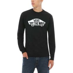 koszulka VANS - Otw Long Sleeve Black/White (Y28) rozmiar: M