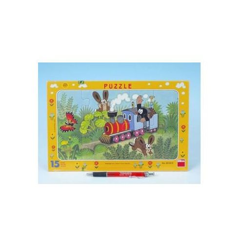 Puzzle, Krtek a lokomotiva - Puzzle 15 deskové neuveden