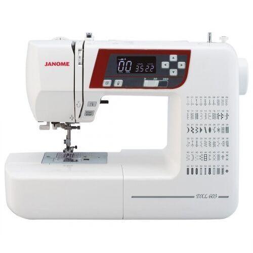 Maszyny do szycia, Janome DXL603