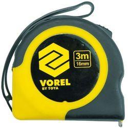 Miara zwijana żółto-czaran 7,5 m x 25 mm Vorel 10109 - ZYSKAJ RABAT 30 ZŁ