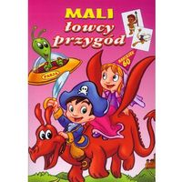 Książki dla dzieci, MALI ŁOWCY PRZYGÓD (opr. broszurowa)