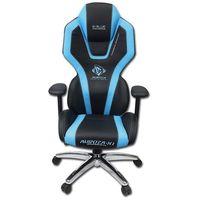 Fotele dla graczy, Dla gracza fotel E-Blue AUROZA, niebieskie