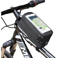 Sakwy, torby i plecaki rowerowe, Wozinsky Torba rowerowa na ramę 6,5 cala 1L WBB6BK