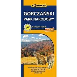 Gorczański park narodowy mapa turystyczna 1:25 000 - praca zbiorowa (opr. broszurowa)